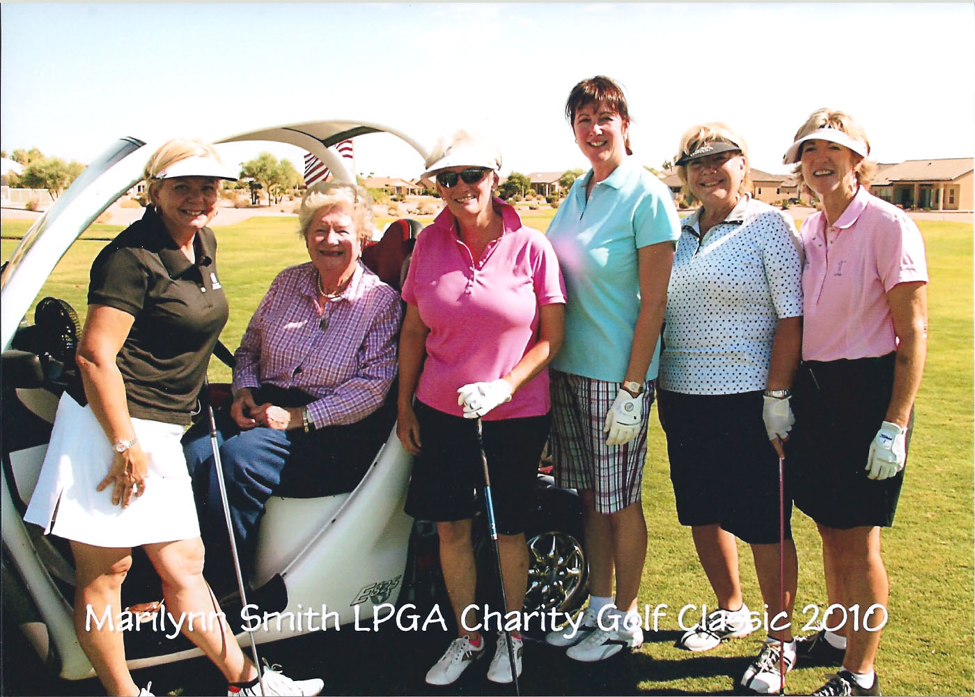 Marilyn Smith Founder LPGA